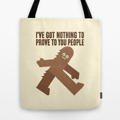 Surefooted Tote Bag #bigfoot #chewbaca #wtf
