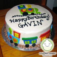 Train Birthday Cake Images