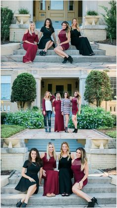 Adorn Apparel Fall Look Book. Burgundy Dress, Black Dress, Maxi Dress, Fall Fashion, Fall Clothing. Women's Clothing.