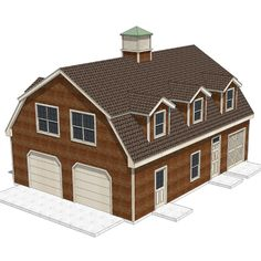 Gambrel roof garage plans   Basic Woodworking ProjectsGambrel Roof Garage Plans   1396 1   Garage Plans   Pinterest  . Gambrel Garage With Apartment Floor Plans. Home Design Ideas