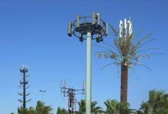 Antenas de telecomunicaciones que no dañan el paisaje