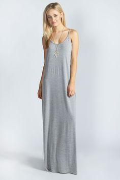 Hayley Strappy Scoop Neck Maxi Dress