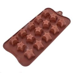 qinxi Five-Pointed Star Shaped Sugarcraft Silicone Mold for Candy/Cookie/Jelly/Chocolate -- Trust me, this is great! Click the image. : Candy Making Supplies