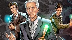 Four Doctors! Three Companions! - Comic Book Series - Doctor Who