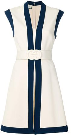 Gucci Viscose Jersey Dress With GG Belt – Farfetch Gucci Jersey dress with GG belt Classy Outfits, Beautiful Outfits, Cute Outfits, Casual Dresses, Fashion Dresses, Dresses For Work, Look Street Style, Gucci Dress, Mode Hijab