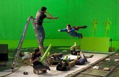 Avete mai pensato a come appaia il set dei vostri film preferiti senza quell'aurea magica e patinata data dagli effetti speciali?