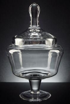 Apothecary Jars - Clear Glass $12 each / 3 for $11 each - For cookie table - MP