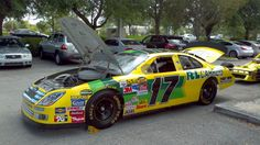 The Matt Kenseth #17 @RLCarriers Race Team car for the @NASCAR Nextel Cup Series here at A!
