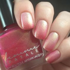 Femme Fatale Cosmetics Love Potion Review | Polish and Paws | Thermal Nail Polish | Cruelty Free | Indie