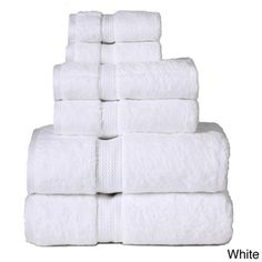 Luxurious 900 Gram Egyptian Cotton 6-piece Bath Towel Set | Overstock.com