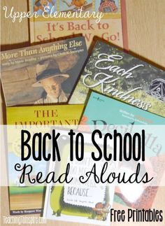 Back to school read alouds are perfect for building communication and teaching classroom expectations. Read about six back to school