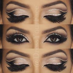 "Crazy Talented MUA Tamanna Roashan Taking ""Cut Crease"" to a Whole 'Nother Level!! ♡♥♡♥♡♥ #makeup #beauty #Instagram"