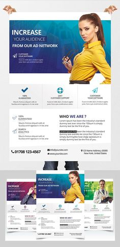 Product Data Sheet Flyer With Pricing Table  Layout  Editorial