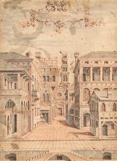 Italian School   17th century   The Comic Scene (Scena Comica)   ca. 1550   The Morgan Library & Museum