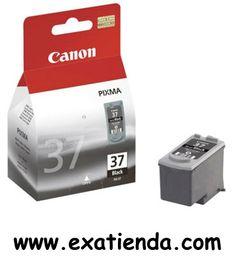 Ya disponible Cartucho Canon pg 37 negro                   (por sólo 14.77 € IVA incluído):   -Compatilble con: -PIXMA IP 1800/2500/2600 -Negro. Garantía de fabricante  http://www.exabyteinformatica.com/tienda/4115-cartucho-canon-pg-37-negro #canon #exabyteinformatica