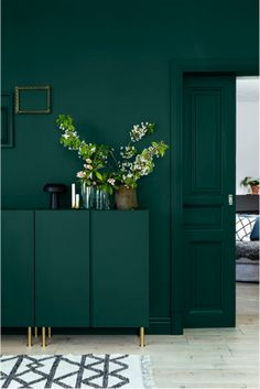 Paired with a set of brass peg legs, the IVAR gets a major upgrade with a dreamy shade of forest green.