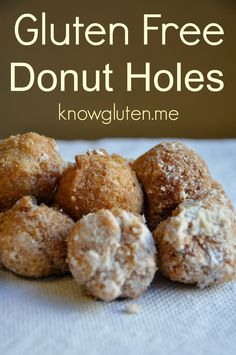 Gluten Free Donut Holes (Timbits) from knowgluten.me (Cheap Gluten Free Recipes)