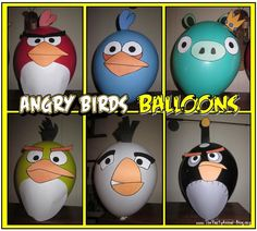 Are you or someone you know a fan of the popular iPhone Game Angry Birds? Maybe your thinking of putting together an Angry Birds Birthday Party Theme. If so they there is no doubt that you are going to love my Angry Birds Balloons which are super easy to make with my FREE Angry Birds Balloon Templates.