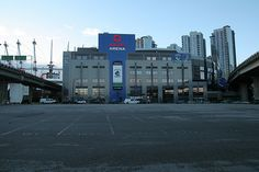 Rogers Arena, Vancouver BC, it used to be known as GM Place