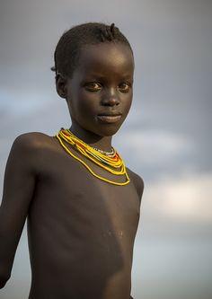 Africa | Bashada Tribe girl. Dimeka, Omo Valley, Ethiopia |