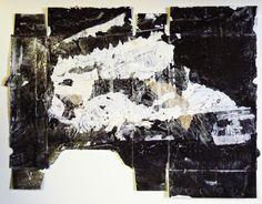 Ian MacLeod ::  'Untitled' -  2015 -  Acrylic, latex, oil and varathane on cardboard.