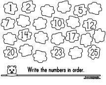Printable Missing Number Worksheet for Groundhog Day from Making Learning Fun