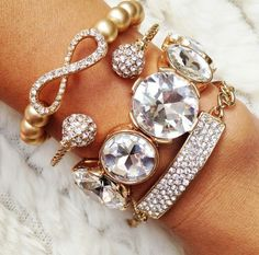 Diamonds on my wrist