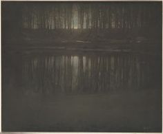 Overshadowed by his photographs, the tonalist paintings of Edward Steichen have fallen into a black hole, victi...