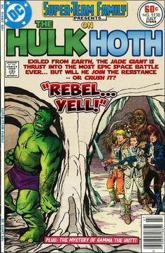 Super Team Family Hulk on Hoth