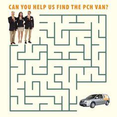 PCH Prize Patrol maze