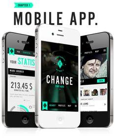 Change – Help Make It by Linus Lang, via Behance
