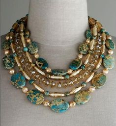Jose maria barrera NECKLACES    The 4.1.1 on Jewelery  Pretty Little Things