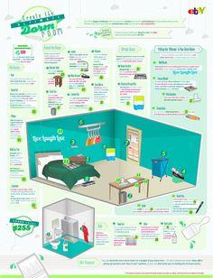 Create the ultimate dorm room