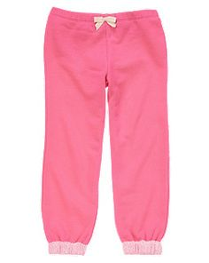 Heart Pocket Terry Active Pant