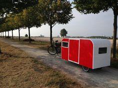 Trike Bicycle, Cargo Bike, Building A Teardrop Trailer, Camping Pod, Go Ride, Mini Camper, Tiny House Cabin, Bike Design, Camper Trailers