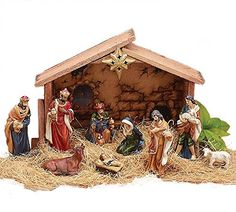 9pc Holiday Nativity Set * Check out this great product.