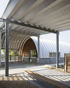 Steel Quonset Offices - Simply Stunning!