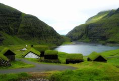 Saksun, Faroe Islands, between Iceland and Norway
