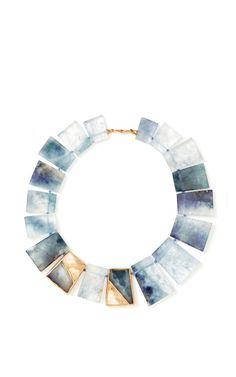 One Of A Kind Geometric 'Ancash' Necklace by Monique Péan for Preorder on Moda Operandi