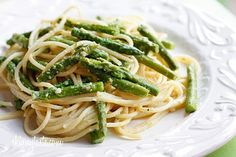It's a simple dish but a wonderful way to enjoy asparagus which is in season right now.    The egg yolk brings a richness and creaminess to this pasta dish without adding too much fat. Using quality ingredients like Parmigiano-Reggiano, fresh cracked pepper and extra virgin olive oil make this simple dish outstanding.  Why should you be eating asparagus? Asparagus is high in Folic Acid and is a good source of potassium, fiber, vitamins A, B6 and C.  This makes a great side dish or lunch, or…