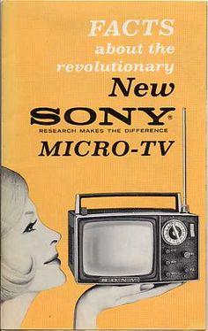 Sony Micro TV (early sixties)