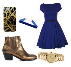 """""""Ravenclaw"""" by hollylightwood ❤ liked on Polyvore featuring Hudson, Khristian Howell and Gucci"""