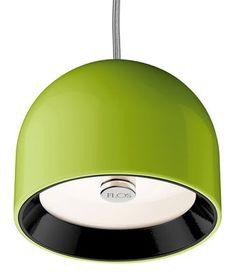 #Sospensione wan di flos verde metallo  ad Euro 170.00 in #Flos #Illuminazione lampadari