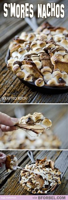 God Bless These S'more Nachos..