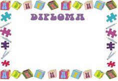 plantillas de diplomas para niños en word - Buscar con Google