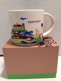 Starbucks Kentucky Cup Mug You Are Here Yah Collection Series | eBay