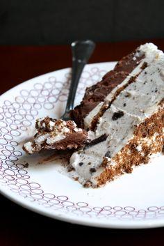 Chocolate Therapy: Ice Cream Cake