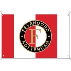 Tuinposter Feyenoord | Maak je tuin nog mooier met een weerbestendige tuinposter van YouPri. Bewezen kleurbehoud! #tuinposter #tuindoek #tuin #poster #weerbestendig #kleurbehoud #frontlit #goedkoop #voordelig #spanners #ogen #feyenoord #rotterdam #voetbal #club #logo #embleem #rood #wit