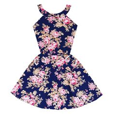 Midnight  Garden Soiree Dress