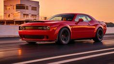 The 2018 Dodge Challenger SRT Demon Dragstrip.